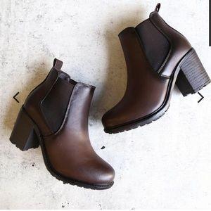 Shoes - Block Heel Booties